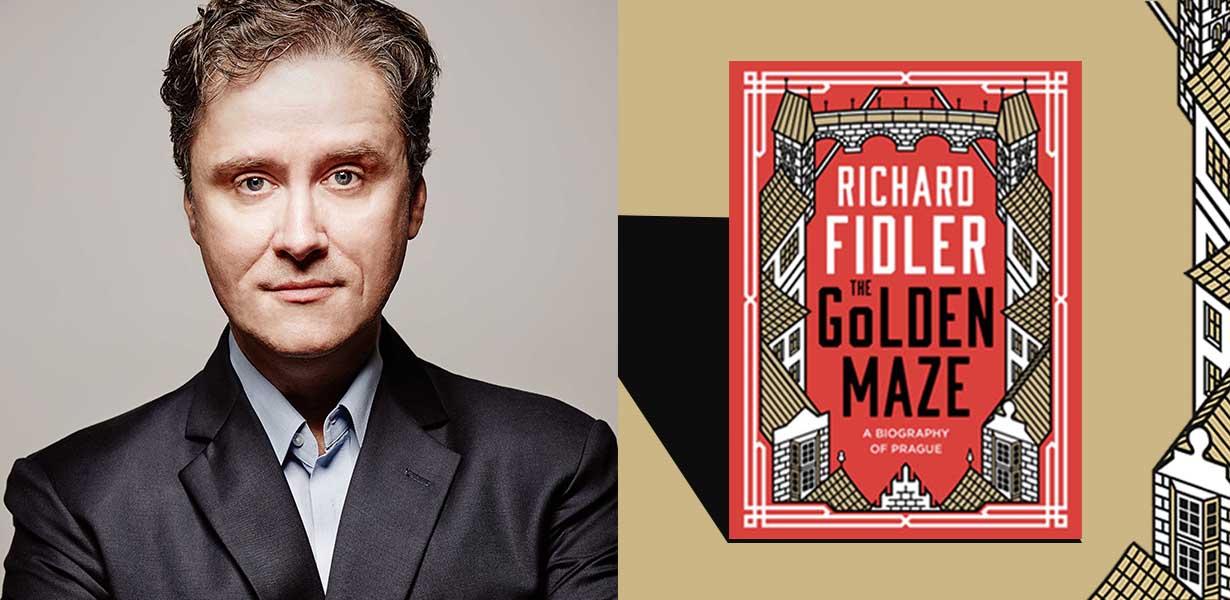 Richard Fidler Live | The Golden Maze - Roaring Stories Bookshop